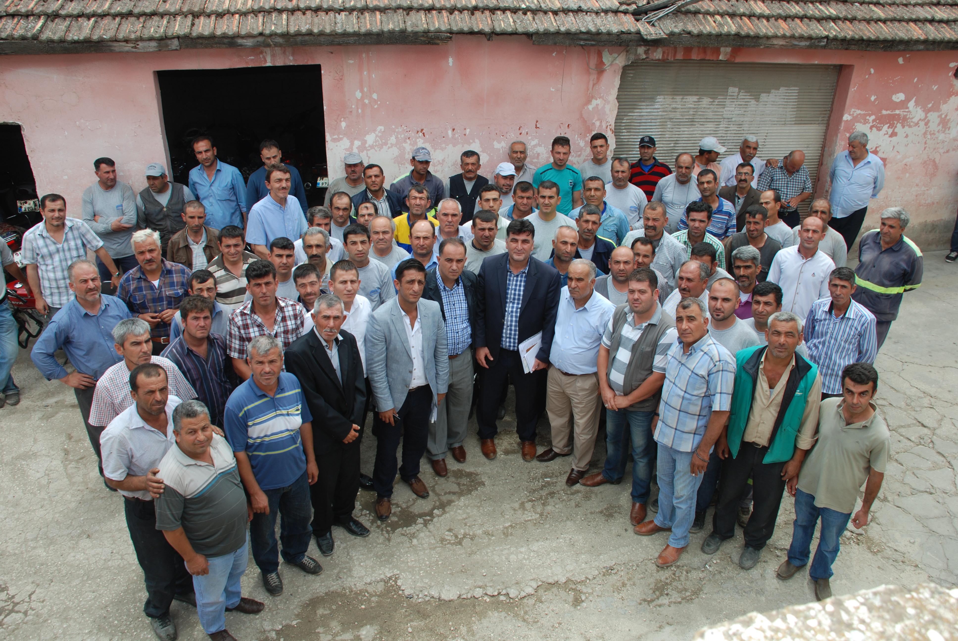 Kırıkhan Belediyesi Temizlik işleri Müdürlüğü Personele Görev Dağılımı Yaptı.