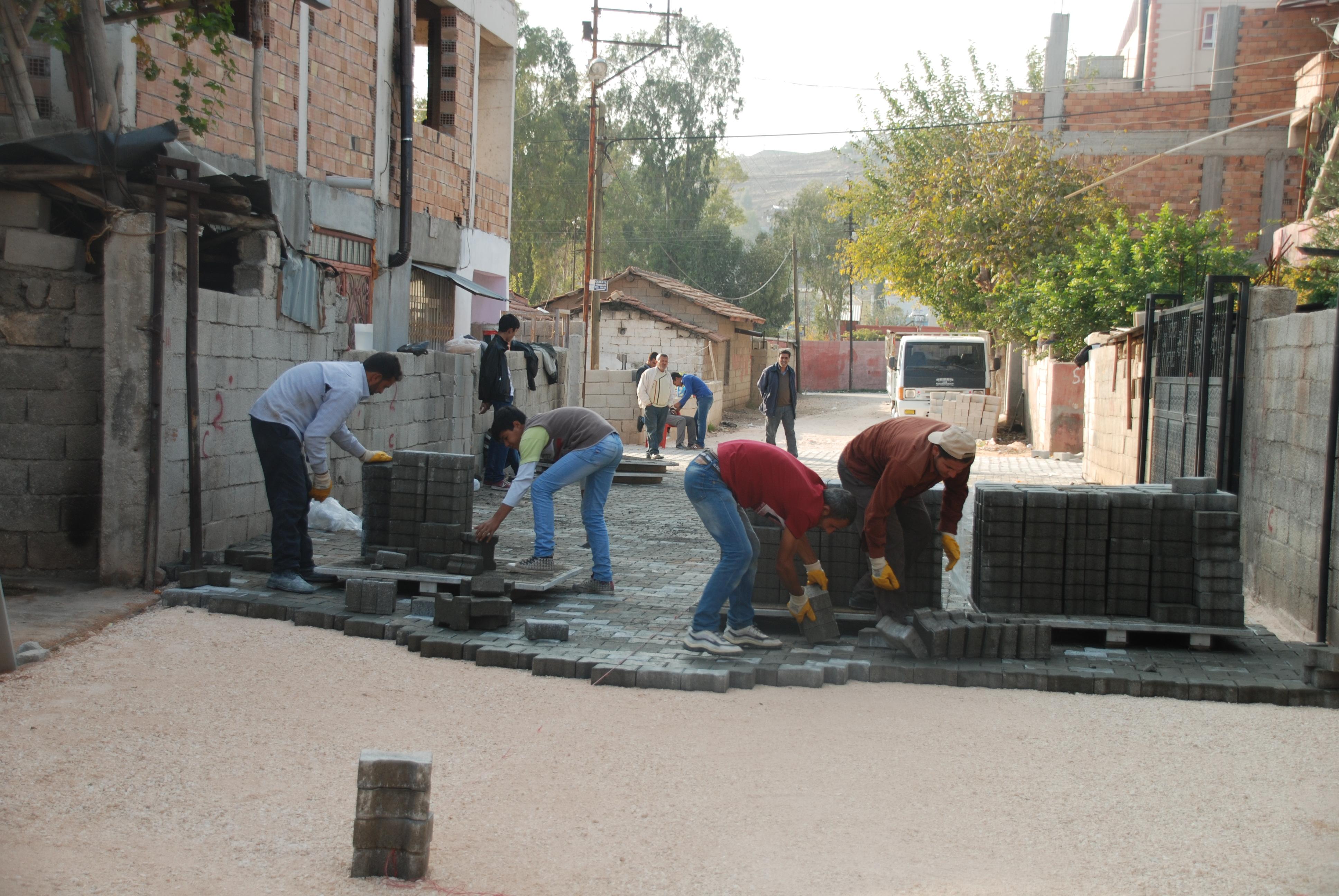 Kırıkhan Belediyesinin Günlük Çalışmaları