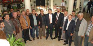 Uluslararası Tırcılar ve Nakliyeciler Birliği Başkanından Belediye Başkanı Ayhan YAVUZ'a Ziyaret