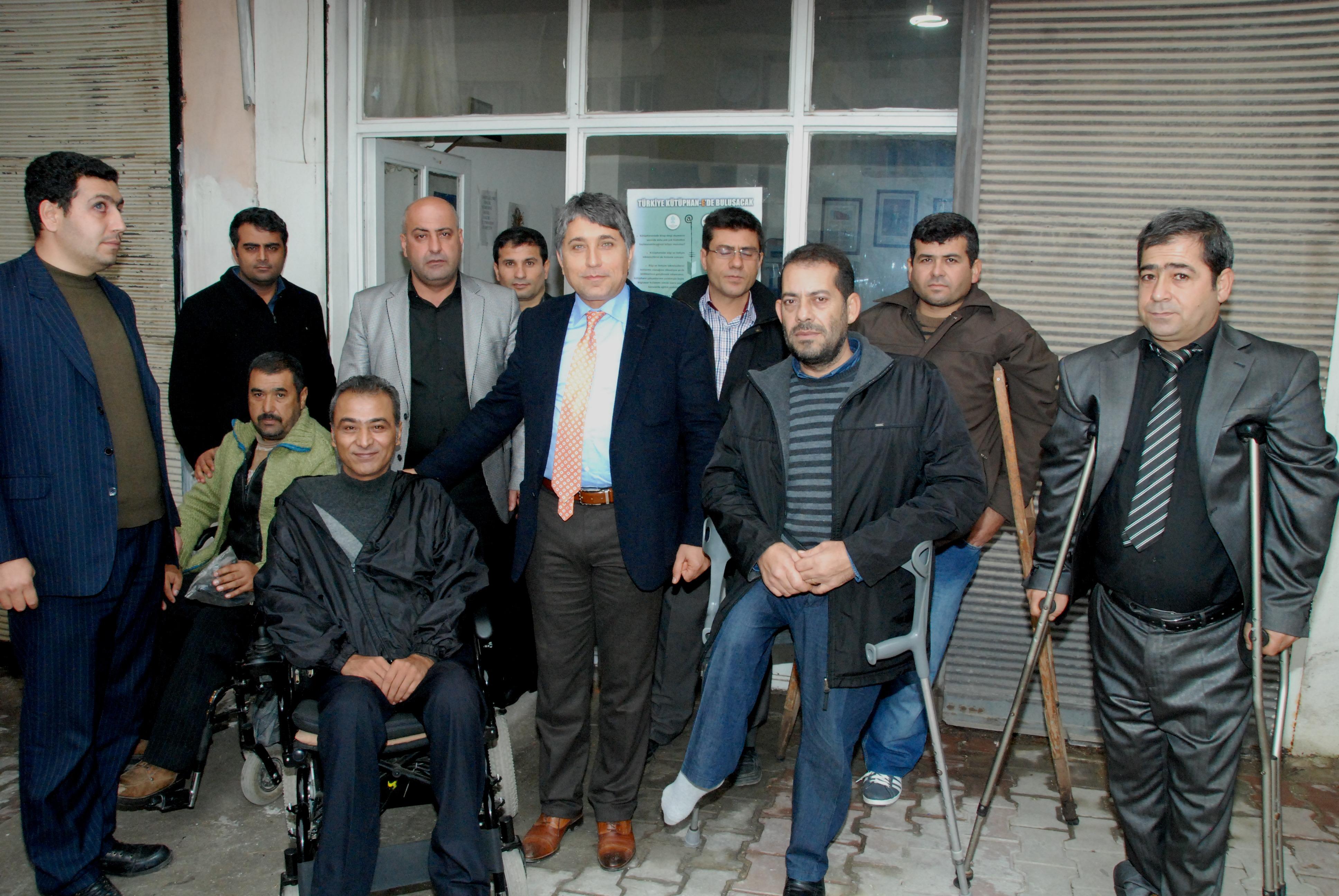 Başkan Engelliler ile Bir Araya Geldi