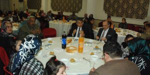 Kırıkhan Kaymakamlığınca Şehit aileleri ve Gazilerimiz onuruna yemek verildi