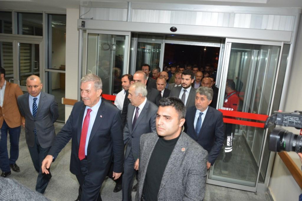 Sağlık Bakanı Demircan, Kırıkhan Devlet Hastanesindeki Yaralı Askerleri Ziyaret Etti