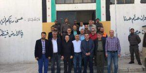 Hatay Vali Yardımcıları, Sınır İlçe Kaymakamları ve Belediye Başkanları Suriye'de