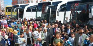 BAŞKAN YAVUZ,  235 ÖĞRENCİYİ ÇANAKKALE'YE UĞURLADI