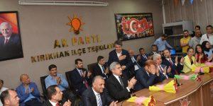Hatay'ın Ak Partili 11 Vekil Adayı Kırıkhan'da