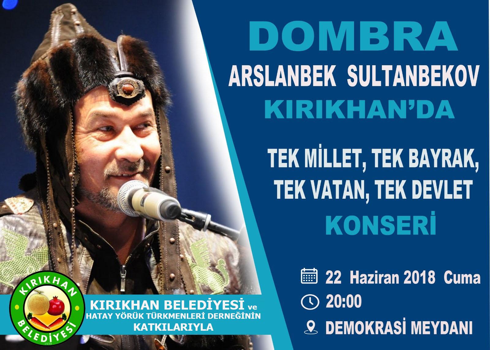 Arslanbek Sultanbekov Kırıkhan'a geliyor
