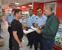 Hatay-Kırıkhan'da zabıtadan fiyat denetimi