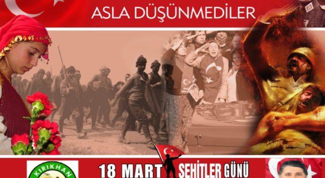 """BAŞKAN YAVUZ; """"ÇANAKKALE ZAFERİ TÜRKÜN ZAFERİDİR''"""
