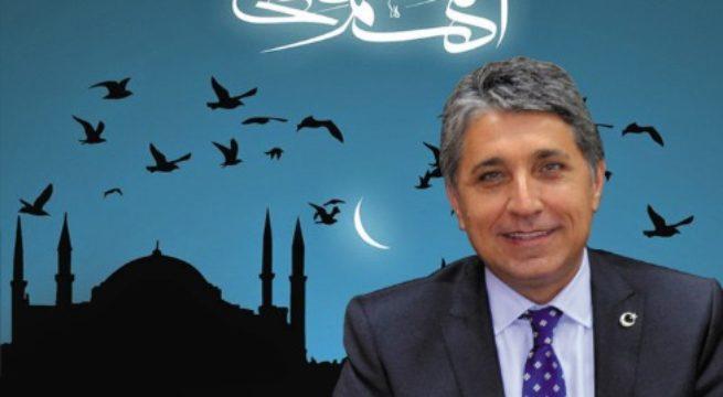 """BAŞKAN YAVUZ """"MİRAÇ KANDİLİ TÜM İSLAM ÂLEMİNE HAYIRLAR GETİRSİN"""""""