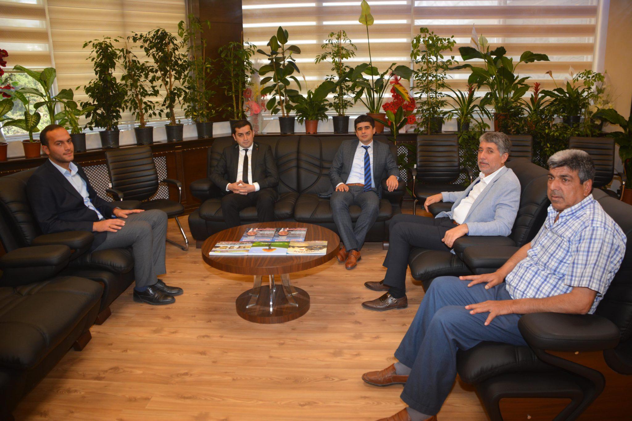 Kırıkhan Cumhuriyet Başsavcımız Sn. Atilla AKGÜN ve Ağır Ceza Hakimimiz Sn. Murat SARIKAYA bizlere nezaket ziyaretinde bulundular.