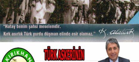 "BAŞKAN YAVUZ ""KIRIKHAN'IN 81.KURTULUŞ BAYRAMI KUTLU OLSUN"""