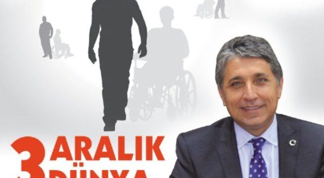 Başkan Yavuz'un 3 Aralık Dünya Engelliler Günü Mesajı