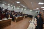 """AZERBAYCAN'IN BAŞKENTİ BAKÜ'NÜN """"NESİMİ"""" İLÇESİ İLE KIRIKHAN KARDEŞ İLÇE BELEDİYESİ OLDU"""