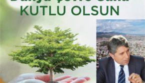 """BAŞKAN YAVUZ """"ÇEVREMİZİ BİRGÜN DEĞİL, HERGÜN KORUYALIM"""""""