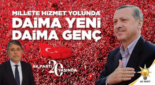 """BAŞKAN YAVUZ; """"AK PARTİ,KÖKÜ MAZİDE GÖZÜ ATİDE OLAN BİR DAVA HAREKETİDİR.!"""""""